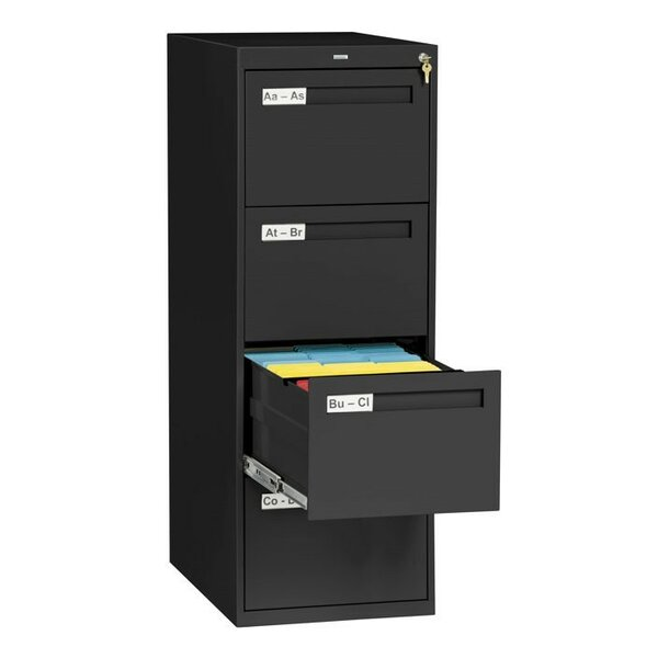 4 Drawer Vertical Filing Cabinet by Symple Stuff