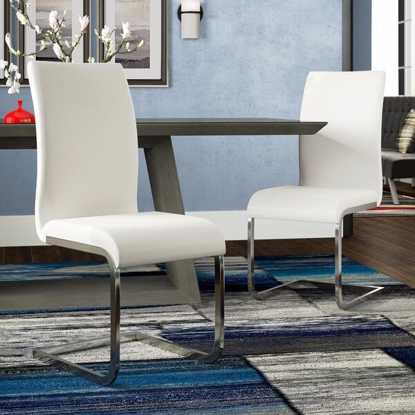 Review Ramsey Upholstered Dining Chair (Set Of 2)