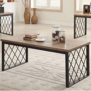 Bargain Vernet 3 Piece Coffee Table Set ByGracie Oaks