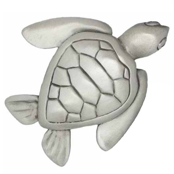 Sea Turtle Novelty Knob by Sea Life Cabinet Knobs