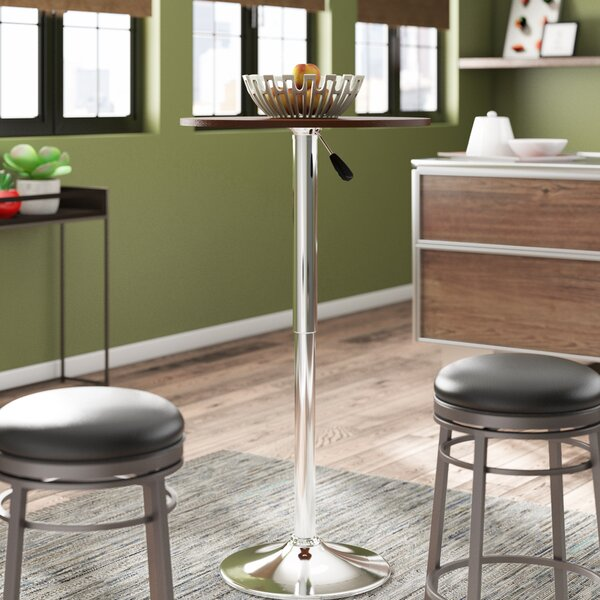 Brabham Adjustable Height Pub Table by Orren Ellis