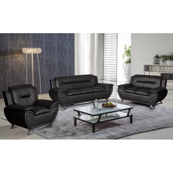 Garfield 3 Piece Living Room Set By Orren Ellis