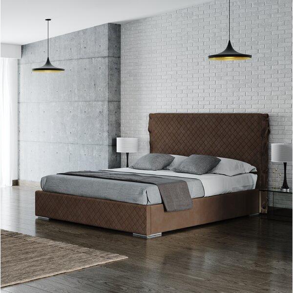 Hammer Upholstered Platform Bed by World Menagerie