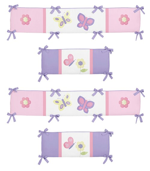 Butterfly Crib Bumper By Sweet Jojo Designs.