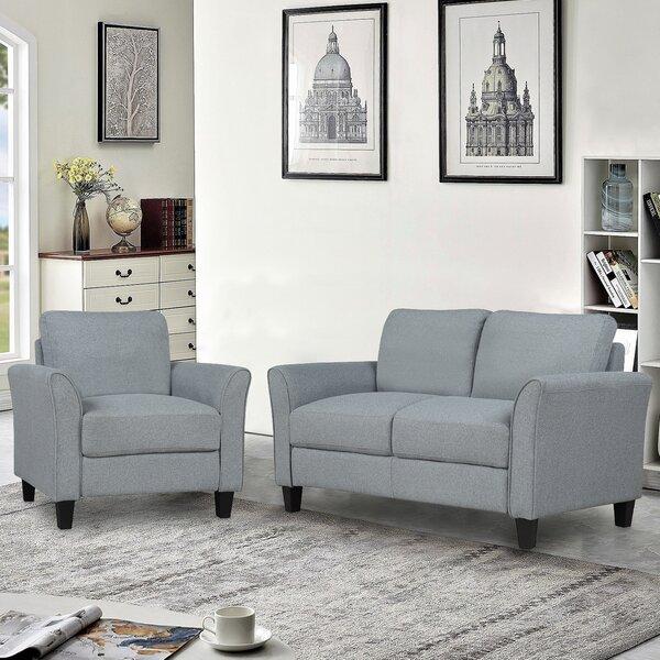 Maxman 2 Piece Living Room Set By Wrought Studio