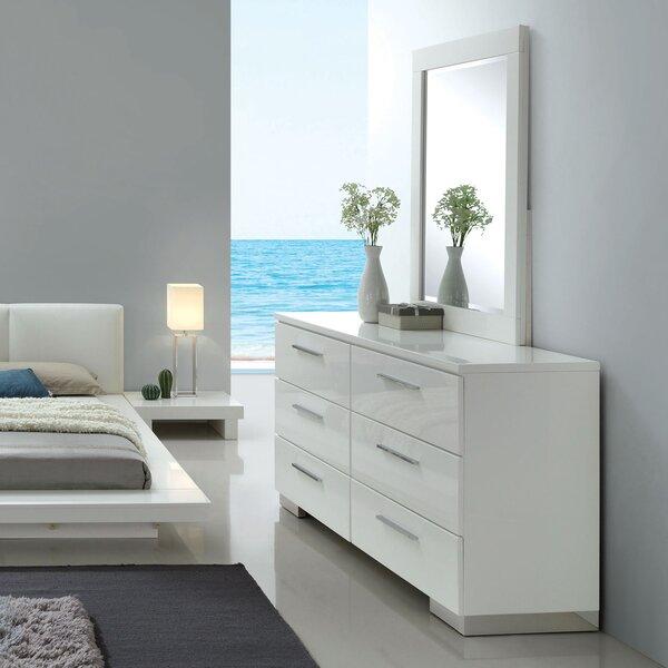 Alayah 6 Drawer Double Dresser by Orren Ellis