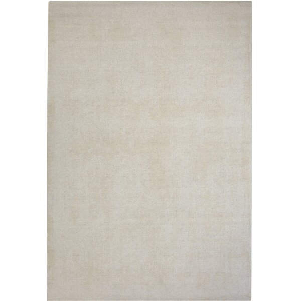 Loring Hand-Tufted Ivory Area Rug by Red Barrel Studio