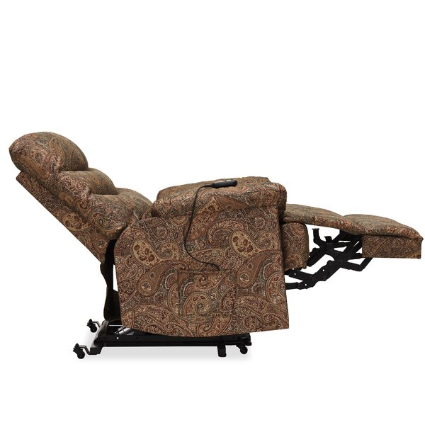 Cerro Paisley Power Reclining Lift Assist Recliner by Red Barrel Studio