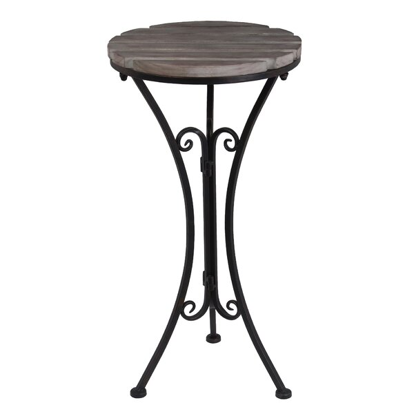Virgie End Table by August Grove