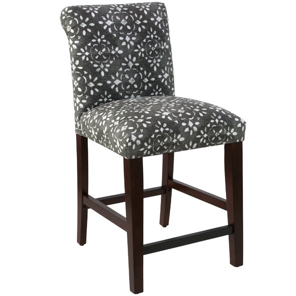 Donahue Rolled Back Upholstered Dining Chair by Bungalow Rose