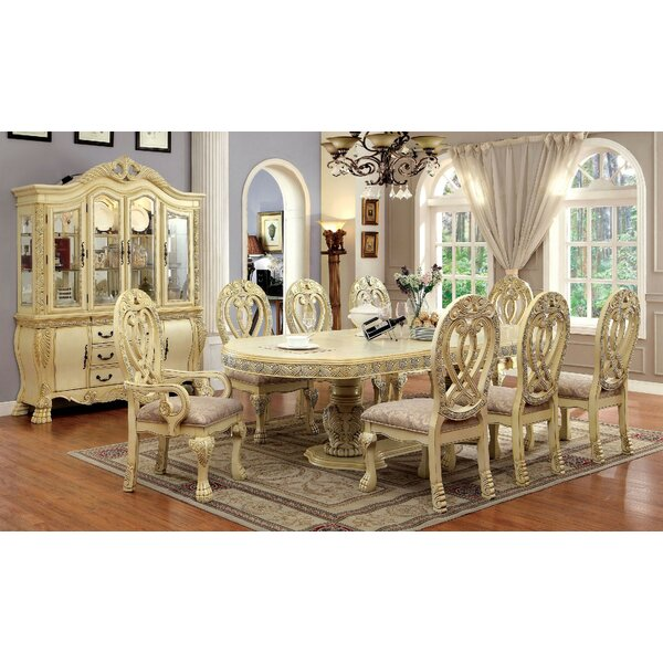 Wisser Extendable Dining Table by Astoria Grand