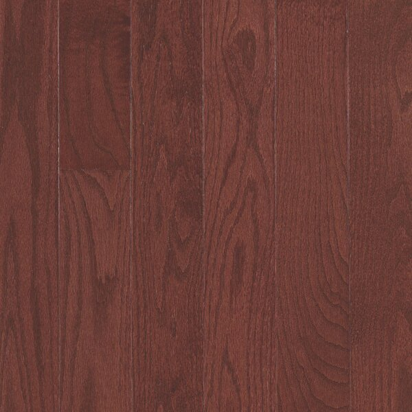 Randhurst Random Width Engineered Oak Hardwood Flooring in Cherry by Mohawk Flooring