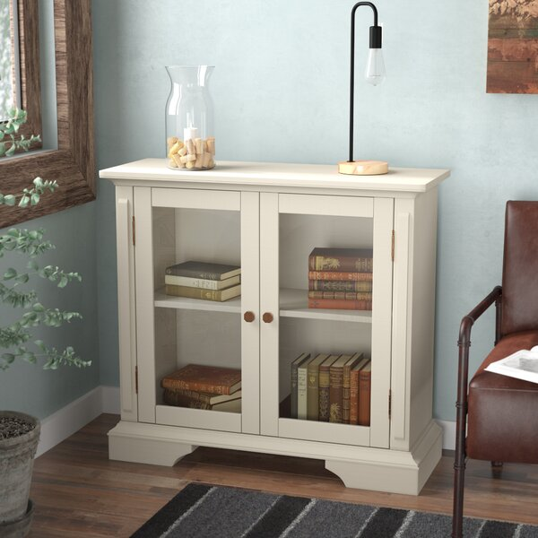 Sebastien Display Accent Cabinet by Laurel Foundry Modern Farmhouse