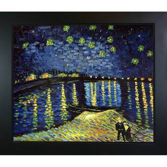 Wildon Home Starry Night Over The Rhone By Vincent Van Gogh