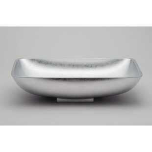 Shop For Vetro Freddo Rectangular Vessel Bathroom Sink By Maestro Bath