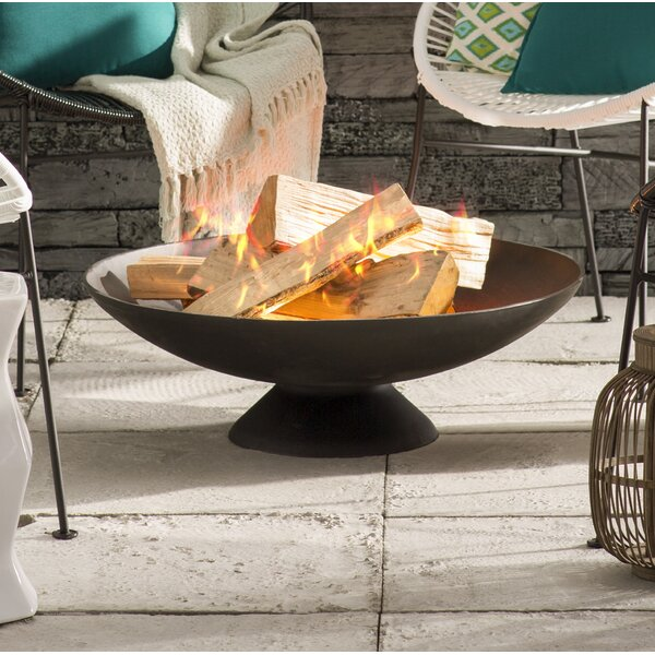 Cast Iron Wood Burning Fire Pit by EsschertDesign
