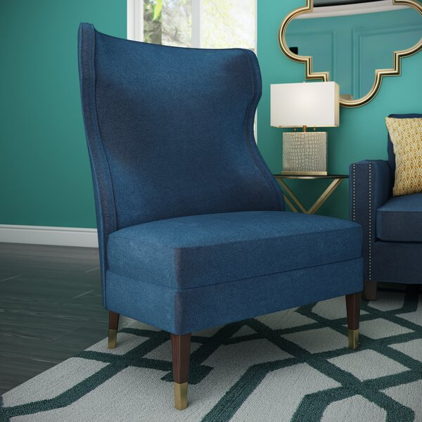 5West Wingback Chair By Sunpan Modern Wonderful