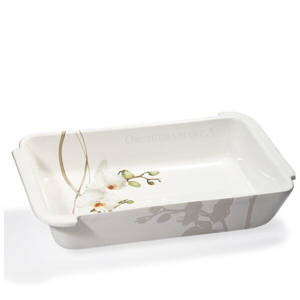 Vivere Orchid Rectangular Baking Dish by Intrada Italy