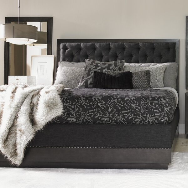 Carrera Upholstered Panel Bed by Lexington