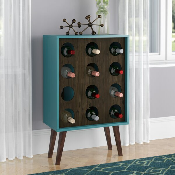 Kory 12 Bottle Floor Wine Bottle Rack by Corrigan Studio