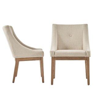 Beige Linen Dining Chairs Wayfair