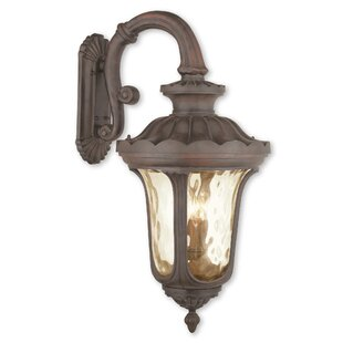 Price comparison Gurnee 4-Light Outdoor Aluminum Wall Lantern By Three Posts