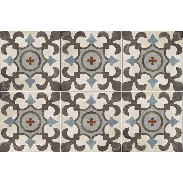 Design Evo 8 x 8 Porcelain Field Tile in Brown/Beige by Travis Tile Sales
