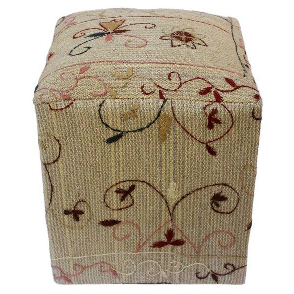 Hatherleigh Kilim Cube Ottoman by Fleur De Lis Living