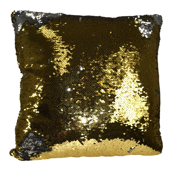Hendrik Reversible Sequin Color Changing Pillow Cover by Mercer41