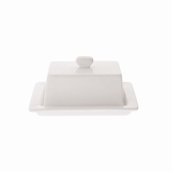 Basics Covered Butter Dish by Maxwell & Williams