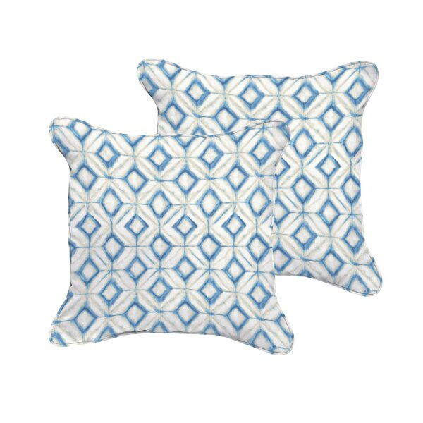 Breshears Indoor/Outdoor Throw Pillow (Set of 2) by Wrought Studio