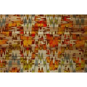 'Norwegian Wood' by Parvez Taj Painting Print on Natural Pine Wood by Parvez Taj