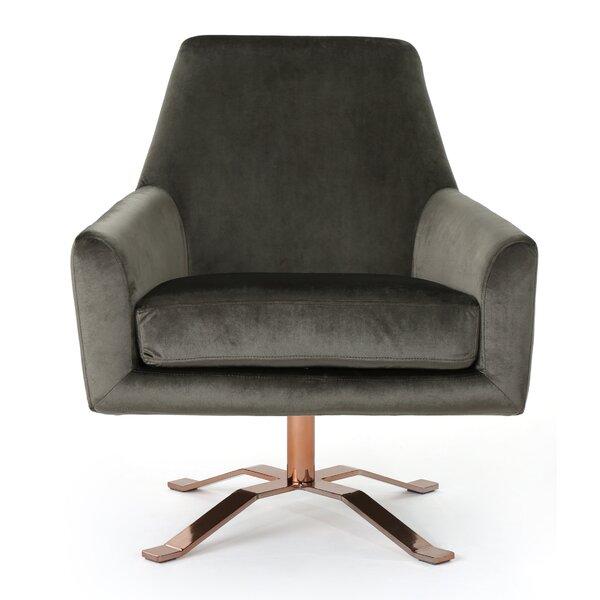 Devers Swivel Armchair by Mercer41