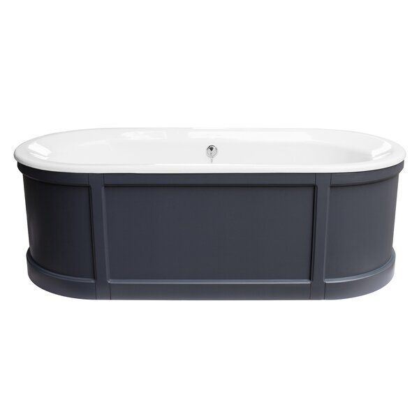 Hutton 70 x 31 Freestanding Soaking Bathtub by Maykke