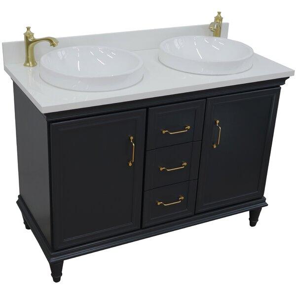 Kamren 49 Double Bathroom Vanity Set