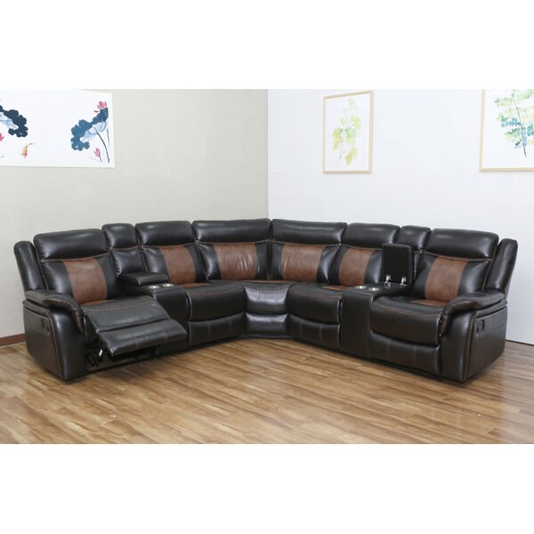 #2 Monica Reclining Sectional By Red Barrel Studio Savings
