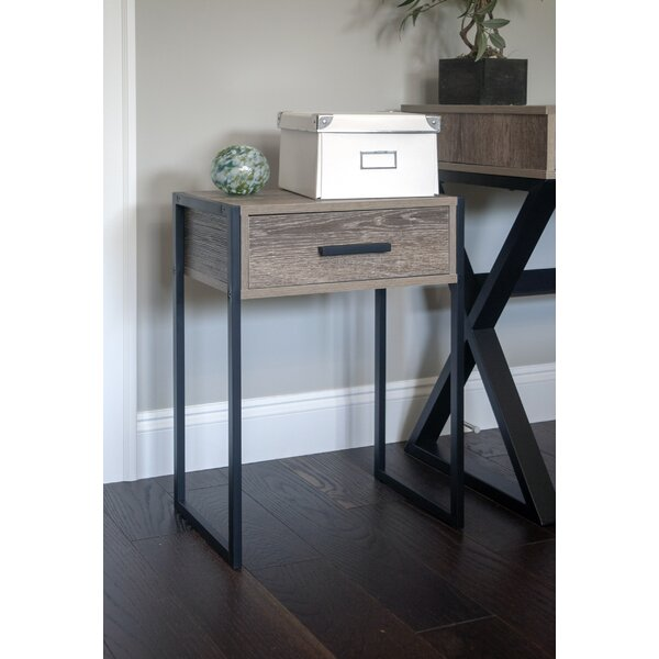 Walling Drawer End Table by Gracie Oaks