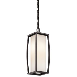 Price comparison Roumfort 2-Light Outdoor Pendant By Winston Porter