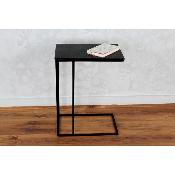 Sharen Slate C End Table by 17 Stories