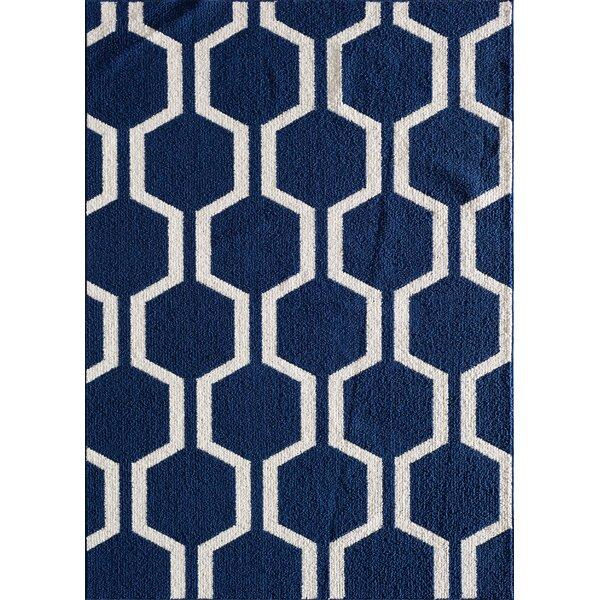 Myra Blue Area Rug by Zipcode Design