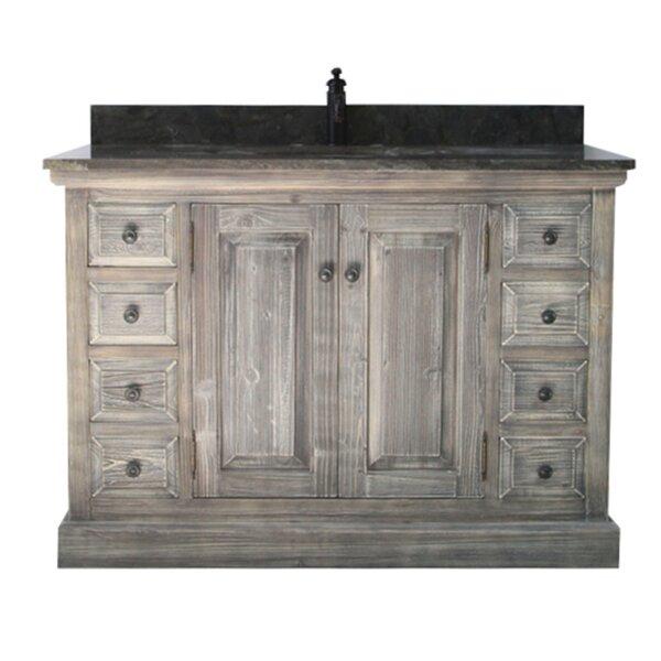 Carlton 48 Rustic 1 Sink Bathroom Vanity Set by Laurel Foundry Modern Farmhouse