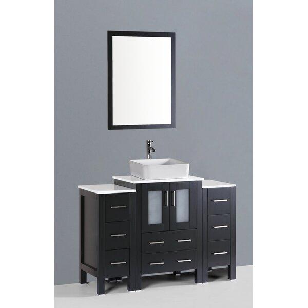 Netto 48 Single Bathroom Vanity Set with Mirror by Ebern Designs