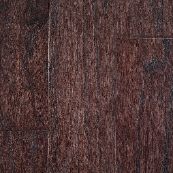 Riga 5 Engineered Oak Hardwood Flooring in Espresso by Branton Flooring Collection