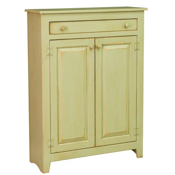Ruths Pie Safe Storage 2 Door Accent Cabinet by dCOR design