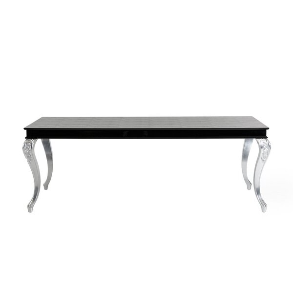 Sall Transitional Crocodile Dining Table by Everly Quinn