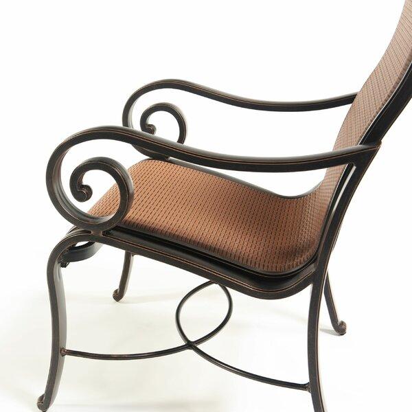 Oliphant Patio Dining Chair (Set of 2) by Fleur De Lis Living