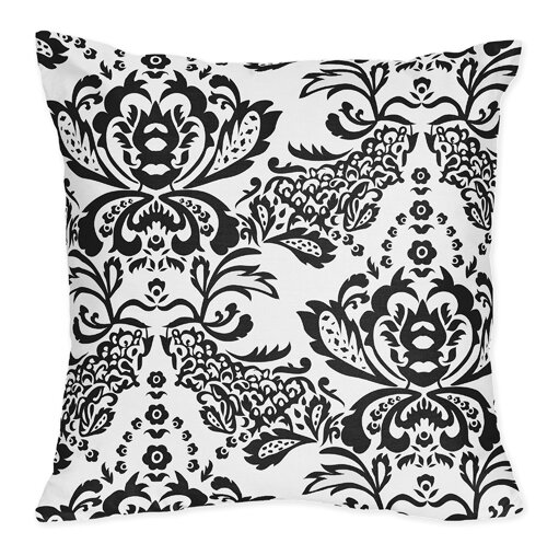 Sophia Cotton Throw Pillow by Sweet Jojo Designs
