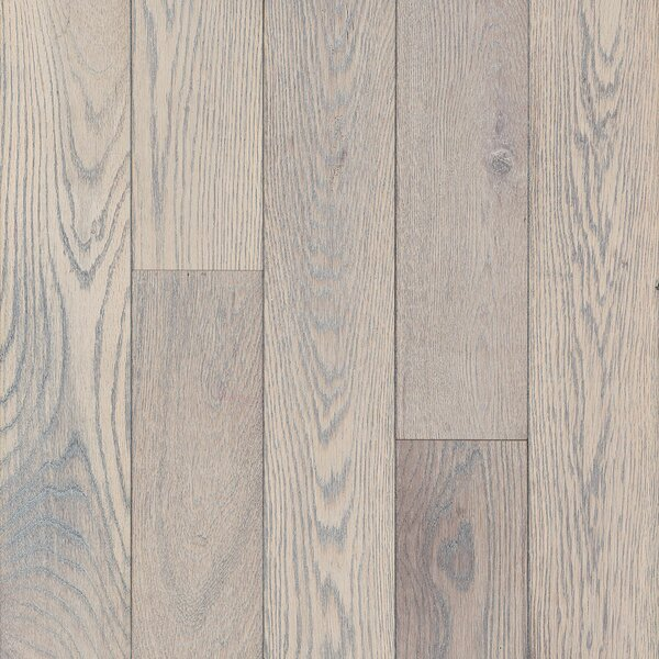 5 Solid Oak Hardwood Flooring in Bayway Gray by Armstrong Flooring