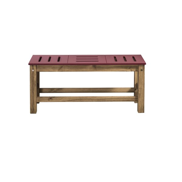 Wiggin Wood Bench By Millwood Pines by Millwood Pines Sale