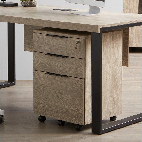 Albin 3-Drawer Vertical Filing Cabinet